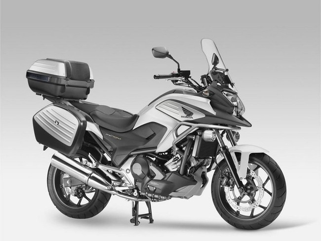Honda nc750x travel edtition 2014