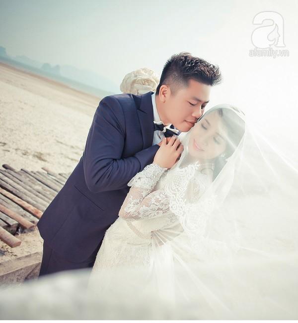 Cô dâu xinh đẹp kể chuyện tình 2 lần yêu lại từ đầu
