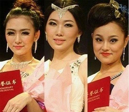 Những hoa hậu trung quốc bị công chúng ném đá vì xấu
